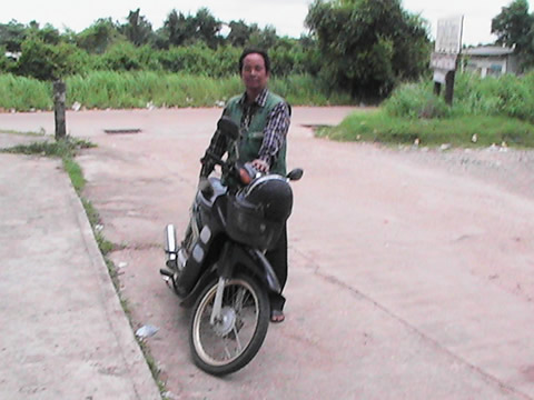 motorcyle taxi in Ubon Ratchathani